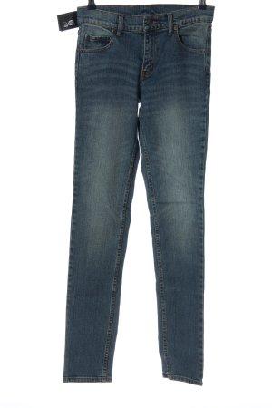 Cheap Monday Jeans a sigaretta blu stile casual