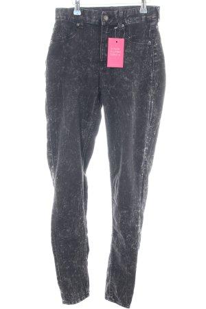 Cheap Monday Skinny Jeans schwarz extravaganter Stil