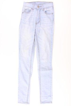 Cheap Monday Skinny Jeans blue-neon blue-dark blue-azure cotton