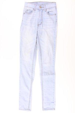 Cheap Monday Skinny jeans blauw-neon blauw-donkerblauw-azuur Katoen