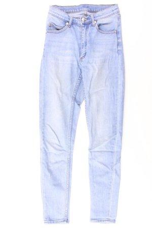 Cheap Monday Jeans skinny bleu-bleu fluo-bleu foncé-bleu azur coton