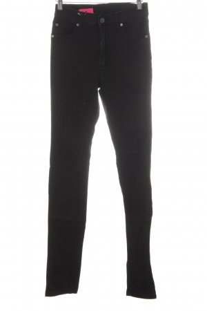 Cheap Monday Skinny Jeans schwarz Nietenelemente