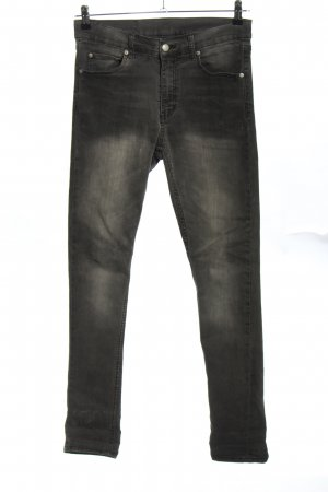 Cheap Monday Dopasowane jeansy czarny W stylu casual