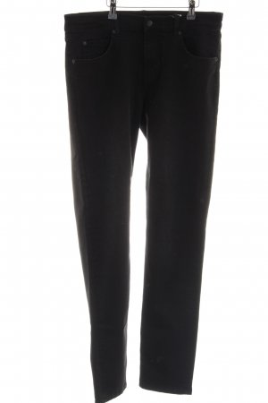 Cheap Monday Slim Jeans schwarz Business-Look