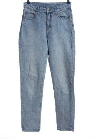Cheap Monday Jeansy z prostymi nogawkami niebieski W stylu casual