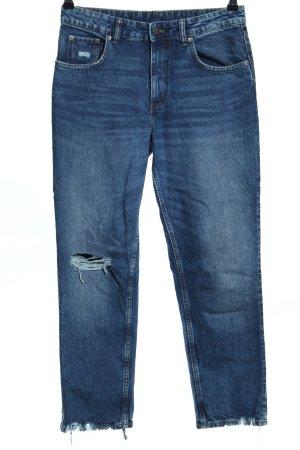 Cheap Monday Straight-Leg Jeans blau Casual-Look