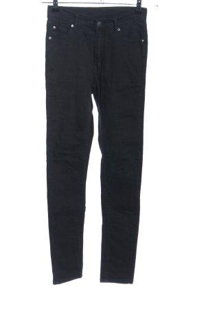 Cheap Monday Jeans stretch noir style décontracté