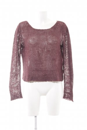 Cheap Monday Strickpullover bordeauxrot Casual-Look