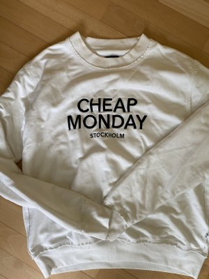 CHEAP MONDAY Sweater / Pullover weiß