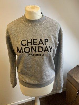 Cheap Monday Bluza dresowa jasnoszary