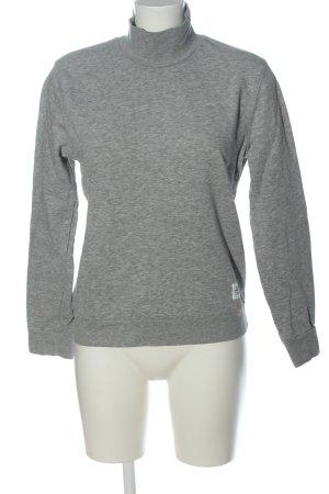 Cheap Monday Sweatshirt hellgrau meliert Casual-Look