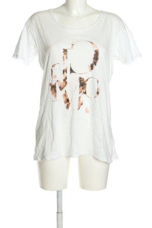 Cheap Monday T-Shirt Schriftzug gedruckt Casual-Look
