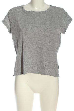 Cheap Monday T-Shirt hellgrau meliert Casual-Look