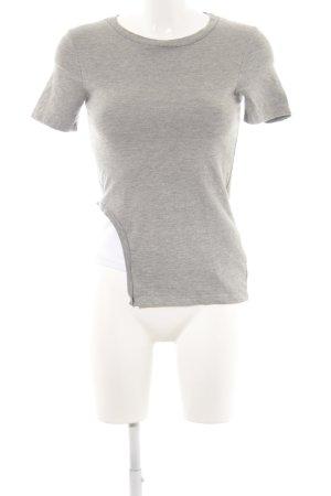 Cheap Monday T-Shirt hellgrau-weiß Casual-Look