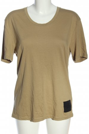 Cheap Monday T-Shirt creme-schwarz Casual-Look