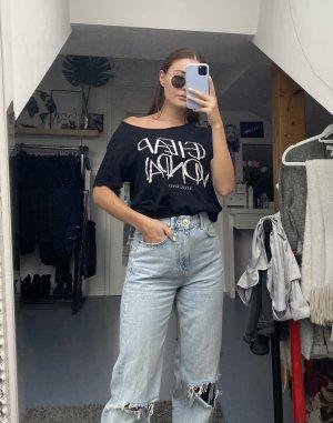 Cheap Monday T-Shirt black-white