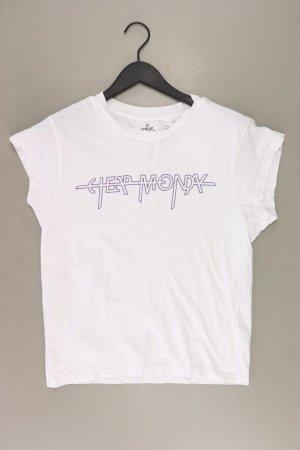 Cheap Monday T-Shirt Größe S Kurzarm weiß aus Baumwolle
