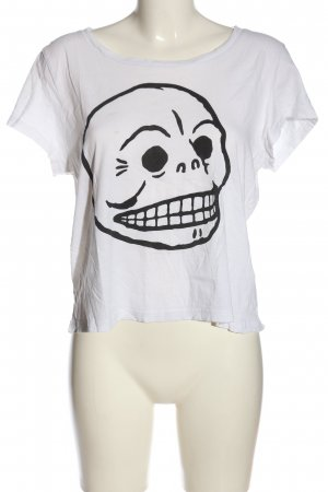 Cheap Monday T-Shirt weiß Motivdruck Casual-Look