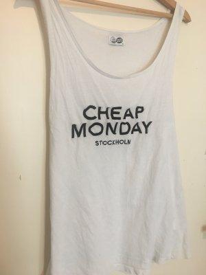 Cheap Monday Basic Top white-black