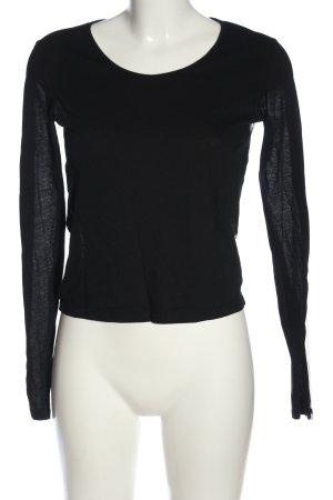 Cheap Monday Transparentna bluzka czarny Siateczkowy wzór W stylu casual