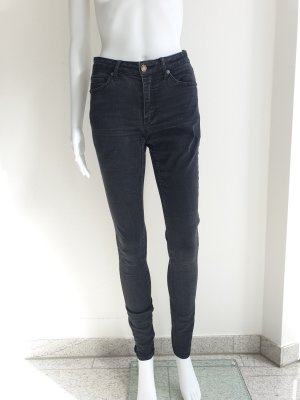 Cheap Monday Pantalone a sigaretta nero
