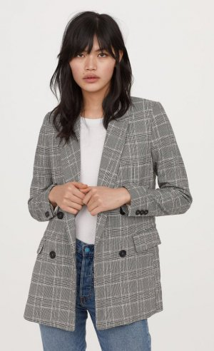 Checked Blazer H&M