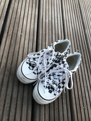 Vans Zapatos brogue blanco-negro