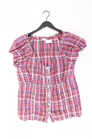 Cheer Bluse Größe 46 plaid pink aus Baumwolle