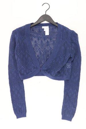 Cheer Cardigan Größe 40 blau aus Baumwolle