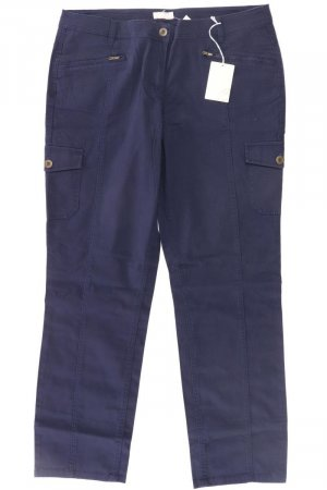Cheer Cargo Pants blue-neon blue-dark blue-azure cotton
