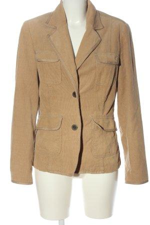 Cheer Cord Jacket brown casual look