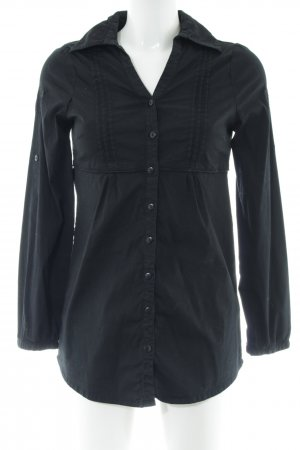 Cheer Hemd-Bluse schwarz Business-Look