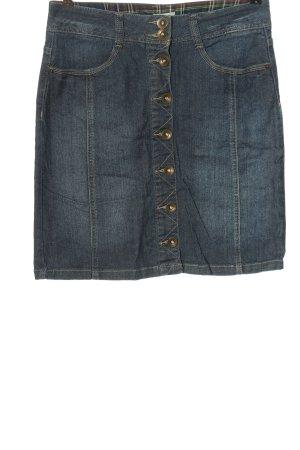Cheer Denim Skirt blue casual look