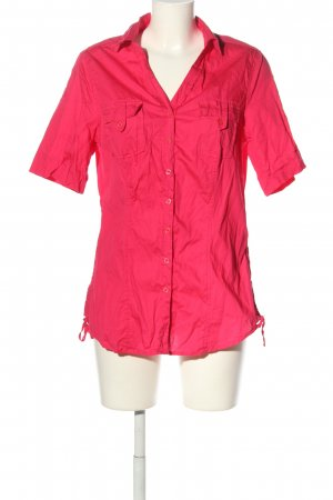Cheer Short Sleeved Blouse pink business style