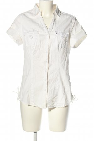Cheer Short Sleeved Blouse white casual look