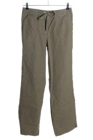 Cheer Pantalone di lino grigio chiaro stile casual