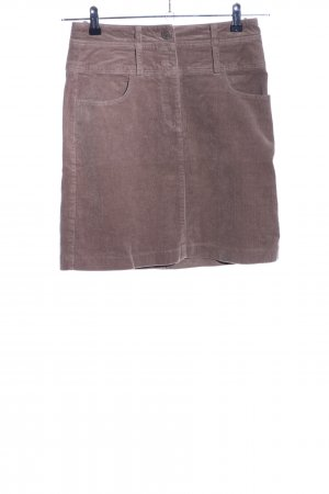 Cheer Miniskirt brown business style