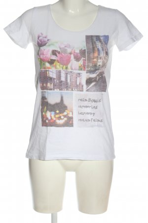 Cheer Print Shirt themed print casual look