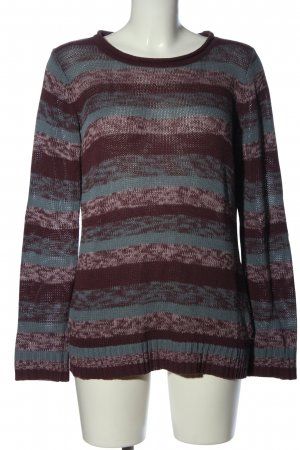 Cheer Crewneck Sweater bronze-colored-blue flecked casual look