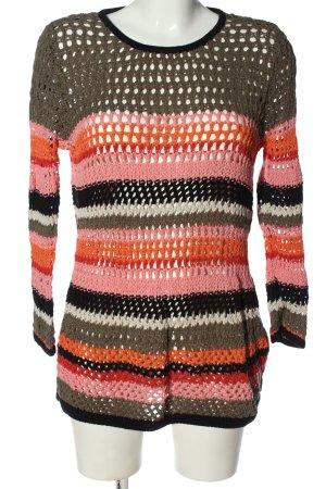 Cheer Crewneck Sweater allover print casual look