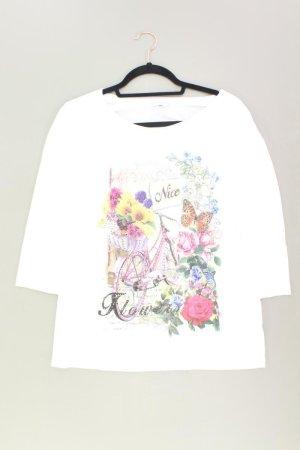 Cheer Shirt Größe 42 neuwertig weiß aus Baumwolle