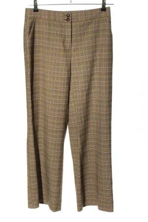 Cheer Spodnie materiałowe brązowy-bladożółty Na całej powierzchni