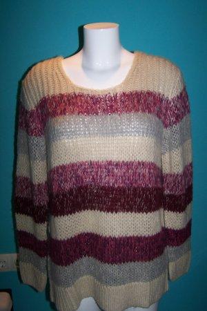 Cheer Sweter z grubej dzianiny w kolorze białej wełny Poliakryl