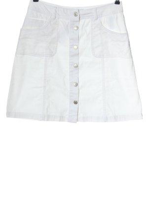 Cheeri Denim Skirt white casual look