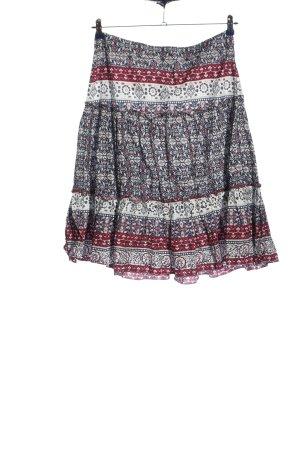 Cheeri Midi Skirt allover print casual look