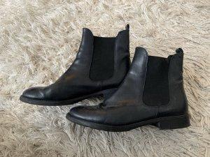 Chelsea Boots (39) - dunkel blau