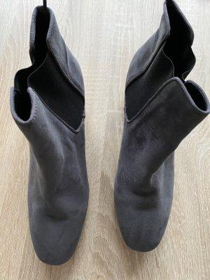 H&M Chelsea Boot gris-noir