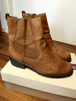Clarks Chelsea Boot brun-cognac