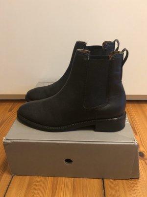 Chelsea Boots, Echtleder