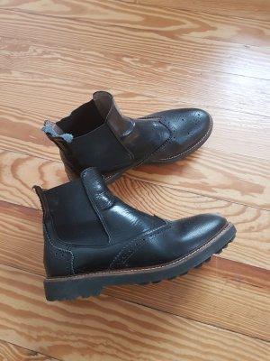 Chelsea Boots Gr. 38 echtes Leder